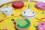 나무로 되는 아이들은 실행 음식 소녀 아이 선물 생일 케이크 Ca04005-2를 위한 고정되는 부엌 장난감을 가장한다