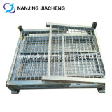 Foldable 저장 격자 금속 용접 철사 감금소 깔판