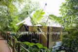 Tenda di lusso di Glamping dell'hotel della tenda con i blocchi per grafici del metallo, PVC e vetro