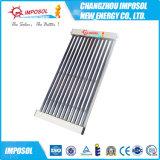Chauffe-eau solaire pressurisé de tubes de verre de vide