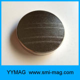 Grand aimant de NdFeB de disque des aimants N35 de néodyme de cylindre à vendre