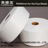 tessuto non tessuto di 19GSM Bfe95% Meltblown per le maschere di protezione