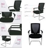 Silla ergonómica del acoplamiento con la base brillante Base trasera silla de la oficina Silla de la conferencia Muebles de oficina
