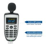 Gran rango de trabajo Transmisor inalámbrico G-MP3T