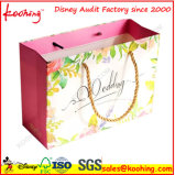 고품질 선전용 손잡이 선물 종이 쇼핑 백 또는 패킹 선물 부대