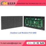 Tela ao ar livre gama alta do diodo emissor de luz P10, contraste elevado, fabricantes do brilho elevado