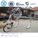 Горячий оцинкованный два уровня велосипед стоек Double Decker Подставка для велосипеда велосипед система для установки в стойку