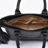Saco de Tote do plutônio da bolsa das mulheres elegantes com os Tassels em ambos os lados
