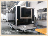 Ys-Fv390b 3,9 m Red High Quality Mobile Restaurant Barbecue Concession Trailers