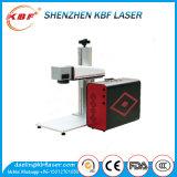 20 avec la machine de gravure portative de laser de fibre en métal de chemin de lumière d'Extraposition de 30With 50W