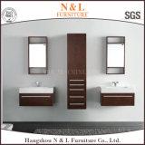 Vanité de salle de bain en bois de chêne de style moderne