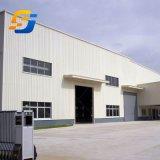 Cobertizo de almacenamiento de prefabricados de almacén de estructura de acero con alta calidad