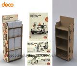 Estante de visualización de papel de suelo del soporte de visualización de Cardbaord para la venta al por menor