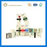 High-End het Vakje van het Parfum van het Document van het Karton van de Luxe (douane verpakkende doos)