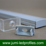 Protuberancias de aluminio lineares, LED arquitectónico