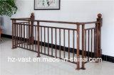 Barandilla de acero galvanizada decorativa de alta calidad 22 del balcón de la aleación de Haohan Alluminum