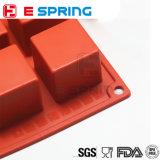 15 полостей придают квадратную форму мыла прессформы торта силикона формы 4*4*4cm кубика подносу кубика льда инструментов малого отливая в форму для кухни DIY