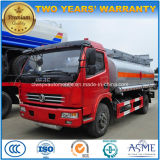 Carro del tanque de gasolina de las ruedas de Dongfeng 6 8000 litros de petróleo de carro del buque para la venta
