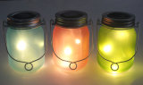Luz solar decorativa al aire libre del vidrio de la luciérnaga LED del verano superventas