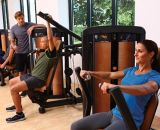 máquina del body-building, equipo de la gimnasia, aptitud, prensa DF-9001 del pecho