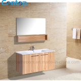 Gabinete de banheiro 023 da madeira contínua