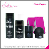 Extrutível efeito de cabelo completo Fiber Hair Powder Extension
