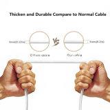PVC Inslulated 1 mètre de câble de chargement USB anneau magnétique Micro