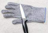 Минимальная толщина прокладки из пеноматериала нитриловые и PU покрытием Nocry вырезать устойчив 5 уровня промышленной безопасности труда защитные рабочие перчатки