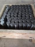 Rotella nera per carrello vuoto del doppio/il singolo asta cilindrica dell'estremità