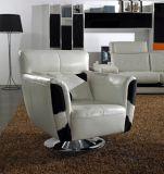 Foshan-neues Form-Leder plus Gewebe-Sofa-Möbel (TG-3728)