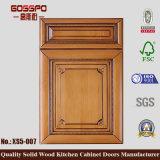 Porta de gabinete de cozinha de madeira Lacquer (GSP5-007)
