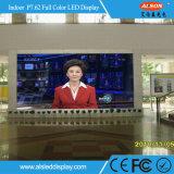 Todas as cores P7.62 SMD LED fixo de interior para publicidade