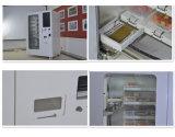 Salle à manger la case de Fast Food vending machine avec système de refroidissement Config Coin et le projet de loi le paiement de Soutien