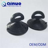 Qinuoの高品質車の日曜日の陰のための白黒PVCプラスチック吸引のコップ