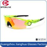 Bâti 2016 blanc populaire lunettes de soleil protectrices des sports un HD de l'oeil UV400