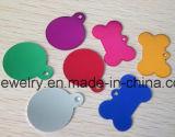 De goedkope Markeringen van de Hond van het Been van Juwelen Uluminium Verschillende Kleur Geplateerde