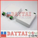 Caixa de plástico sem energia FTTH passiva Pon receptor óptico