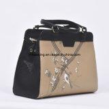 Handbag中国の製造者の革女性トートバックカスタム袋の学生かばん