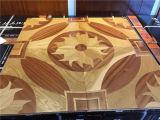 Parquet conçu par luxe en bois de médaillon