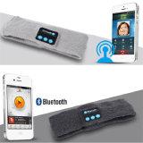 Audio cuffia avricolare di lavoro a maglia del ricevitore telefonico della fascia del Casque senza fili di Bluetooth per il trasduttore auricolare corrente di ginnastica di yoga di sport