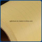 Respaldo amarillo de alta calidad papel laminado en frío de PVC Film