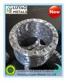 Partie d'usinage avec matériau aluminium