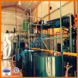 L'huile à moteur utilisée par perte de diesel et d'essence réutilisant la machine installent en Europe