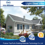 Diseño modular prefabricados de acero de calibre de la luz de la casa con 2 dormitorio