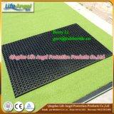 Stuoia di gomma della gomma di drenaggio della stuoia dell'erba poco costosa di fabbricazione di Qingdao
