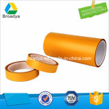 90 Mic Espessura Transparente ou Black Pet Polyester Backing Self-Adhesive Tape