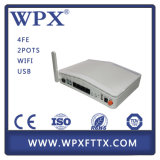 4fe 2vpoip WiFi USB Gepon Accueil Gateway Unit Hgu ONU