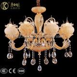Luxo e Prefeito Cores dupla luz lustre de cristal
