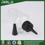 100ml 3.3oz rimuovono la bottiglia di plastica con la protezione dell'unicorno per farmaceutico