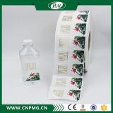 Custom Label clair des autocollants pour les bouteilles